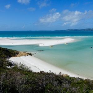 Cette plage sur l'île de Whitsunday est sans aucun doute la plus belle de la côte est.