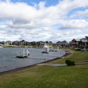 Port Macquarie est une petite ville qui habrite le seul hopital de Koala au monde mais ce panorama illustre le mode de vie enviable des habitants.